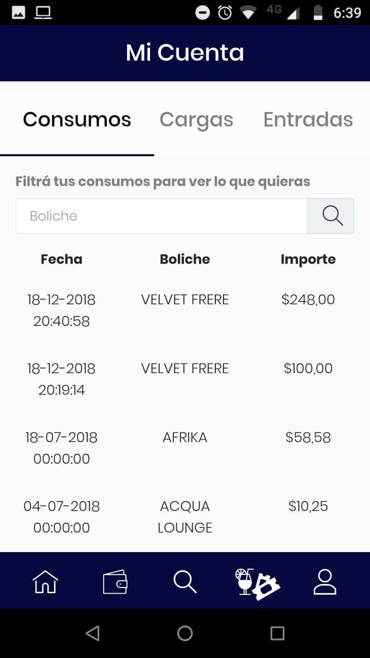 Aplicación Bailar Seguro para ingresar a los boliches.