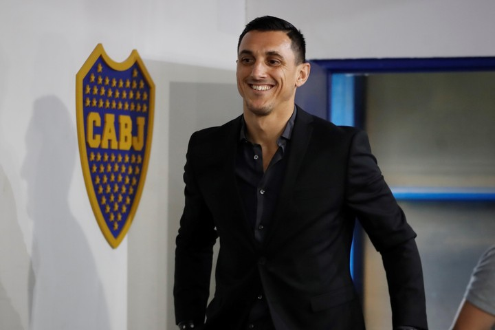 Burdisso asumió en diciembre como director deportivo. (Foto: EFE/ Juan Ignacio Roncoroni)