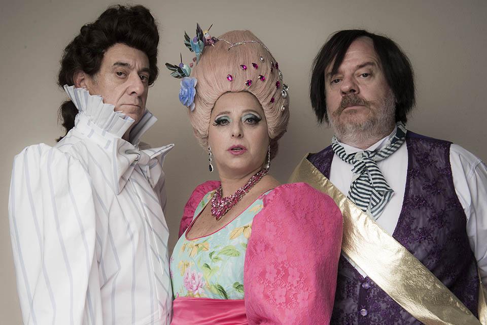 El adulador. Foto de Carlos Furman/Complejo Teatral de Buenos Aires