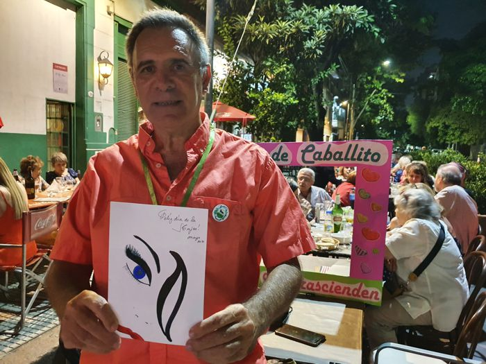 Sergio Mosquera de La Cofradía de Caballito
