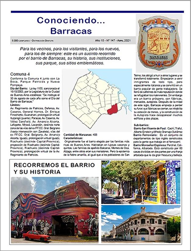 CONOCIENDO BARRACAS