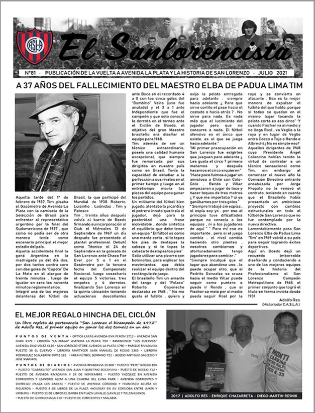 EL-SANLORENCISTA